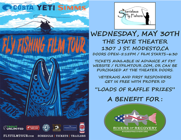 Fly Fishing Film Tour, Modesto, California