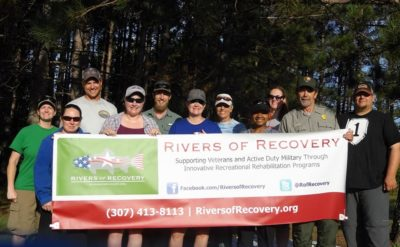Women Veteran Rivers of Recovery Trip, Wisconsin 2018