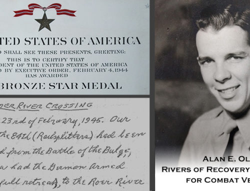 WWII Veteran Inspires Rivers of Recovery Scholarship